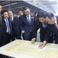 步阳安全门全省唯一生产基地在什竣工投产