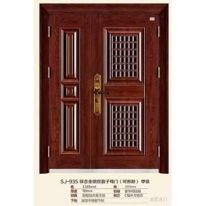 门中门 防盗门 通风门 窗门甲级 SJ-933子母门 三七门
