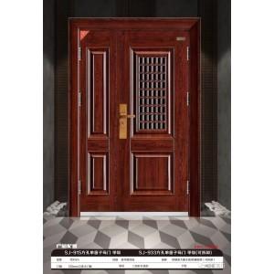 防盗门 安全门 甲级915单窗子母门 三七门
